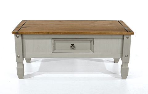 Corona Grey Coffee Table With Drawer