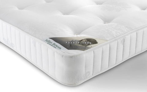 Julian Bowen Elite Pocket Sprung 1000 Mattress - Single, Double & Kingsize