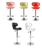 Luxury Retro Design Bar Stool/Chair - 5 Colours - (Set of 2)