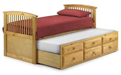 Hornblower Bed - Antique Pine Finish