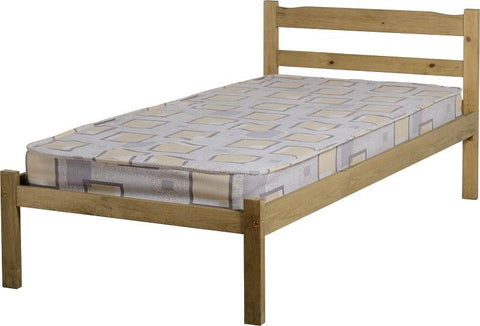 Panama 3' Bed in Natural Wax