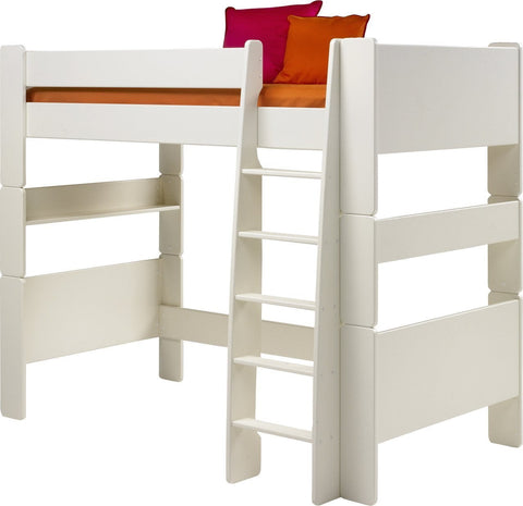Steens Kids Bunk Bed or High-Sleeper In White