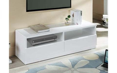 Manhattan High Gloss 2 Drawer Entertainment Unit