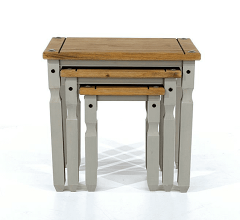 Corona Grey Nest Of Tables (3 Piece)