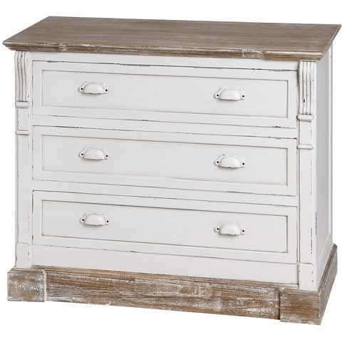 New England 3 Drawers Chest