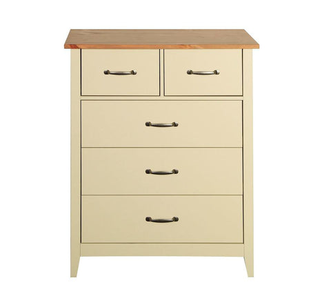 Norfolk Cream 2+3 Chest Of Drawers