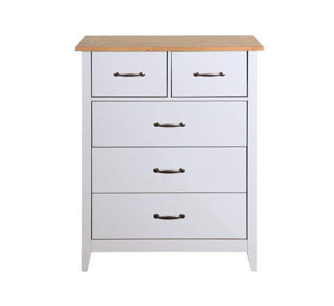 Norfolk Grey 2+3 Chest Of Drawers