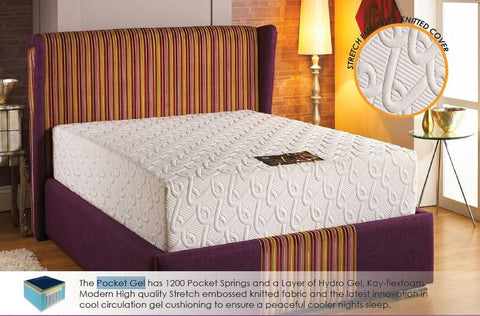 Pocket Gel Pocket Sprung Mattress - All Sizes