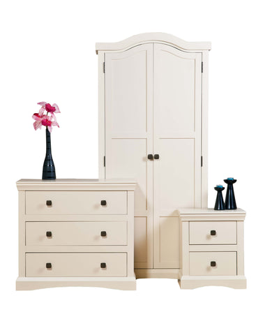 Quebec Cream Painted Bedroom Furniture Set