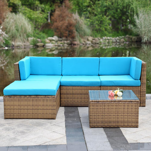 Outdoor Rattan Corner Furniture Set