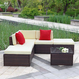 Outdoor Rattan 6 Piece Furniture Set