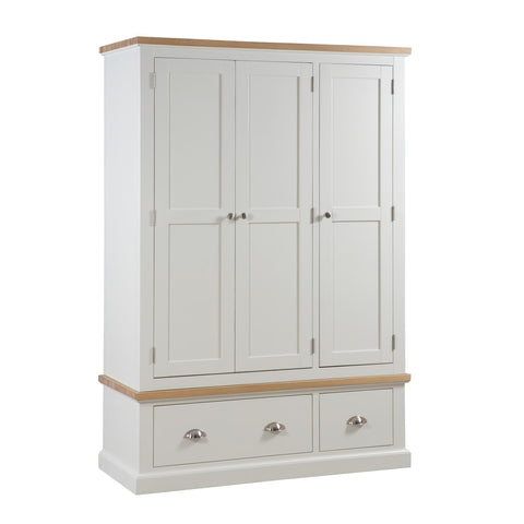 Ripley Oak Top Tripe Combination Wardrobe