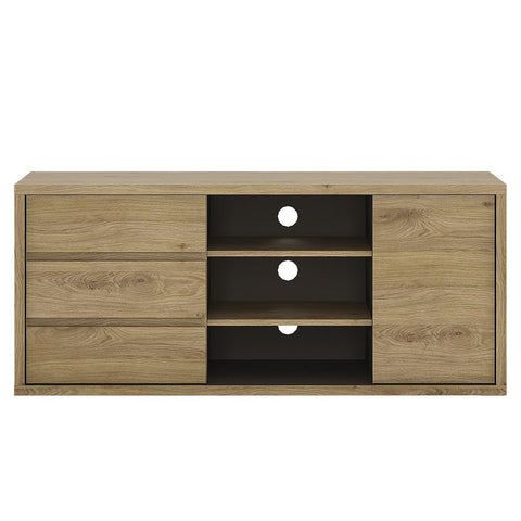 Shetland 1 Door 3 Drawer Wide TV Unit