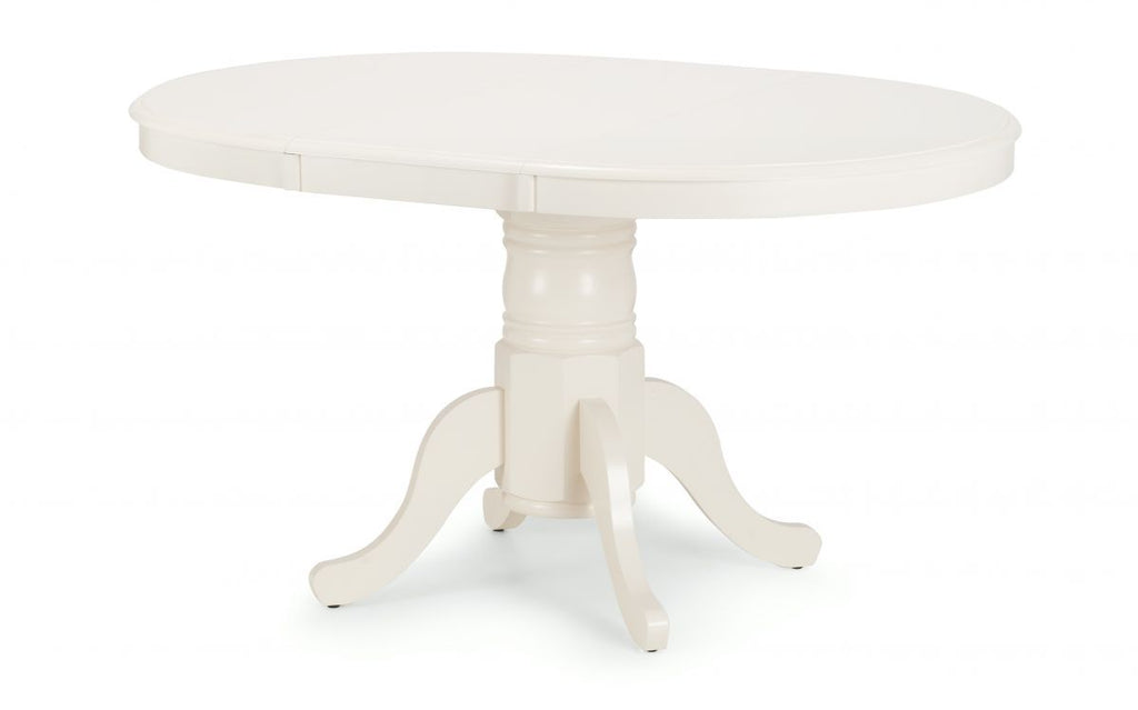 Stamford Round To Oval Extending Dining Table Set Discountslandcouk
