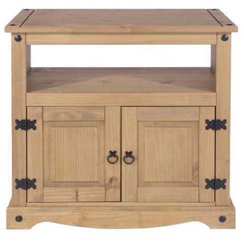 Corona Solid Pine 2 Door TV Unit