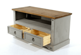 Corona Grey Washed TV Unit