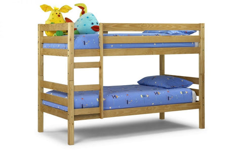 Wyoming Bunk Bed - Solid Antique Pine
