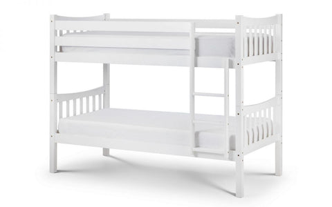 Zodiac Bunk Bed - Bright White Finish