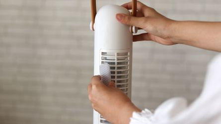 PRISMATE Cordless Aroma Tower fan with human sensor PR-F020