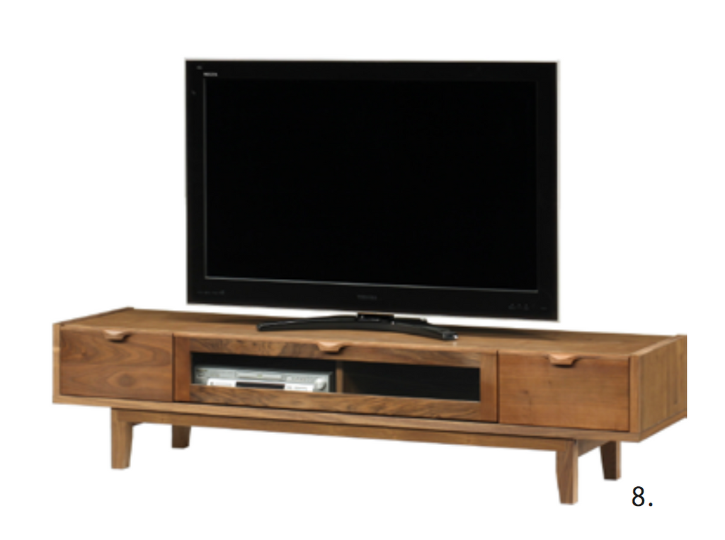Natalie - Walnut TV Board