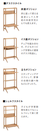 OKAMURA VICINO Study Desk Set (without door)