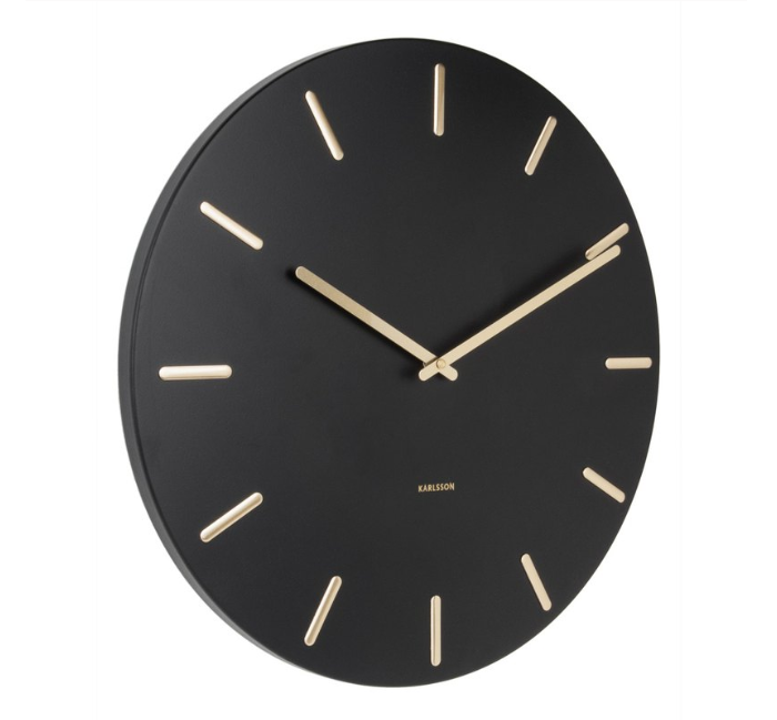 Karlsson Wall Clock Charm (Black)
