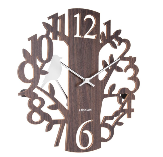 Karlsson Wall Clock Woodpecker