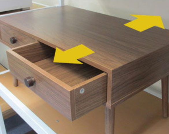 Alum Coffee Table