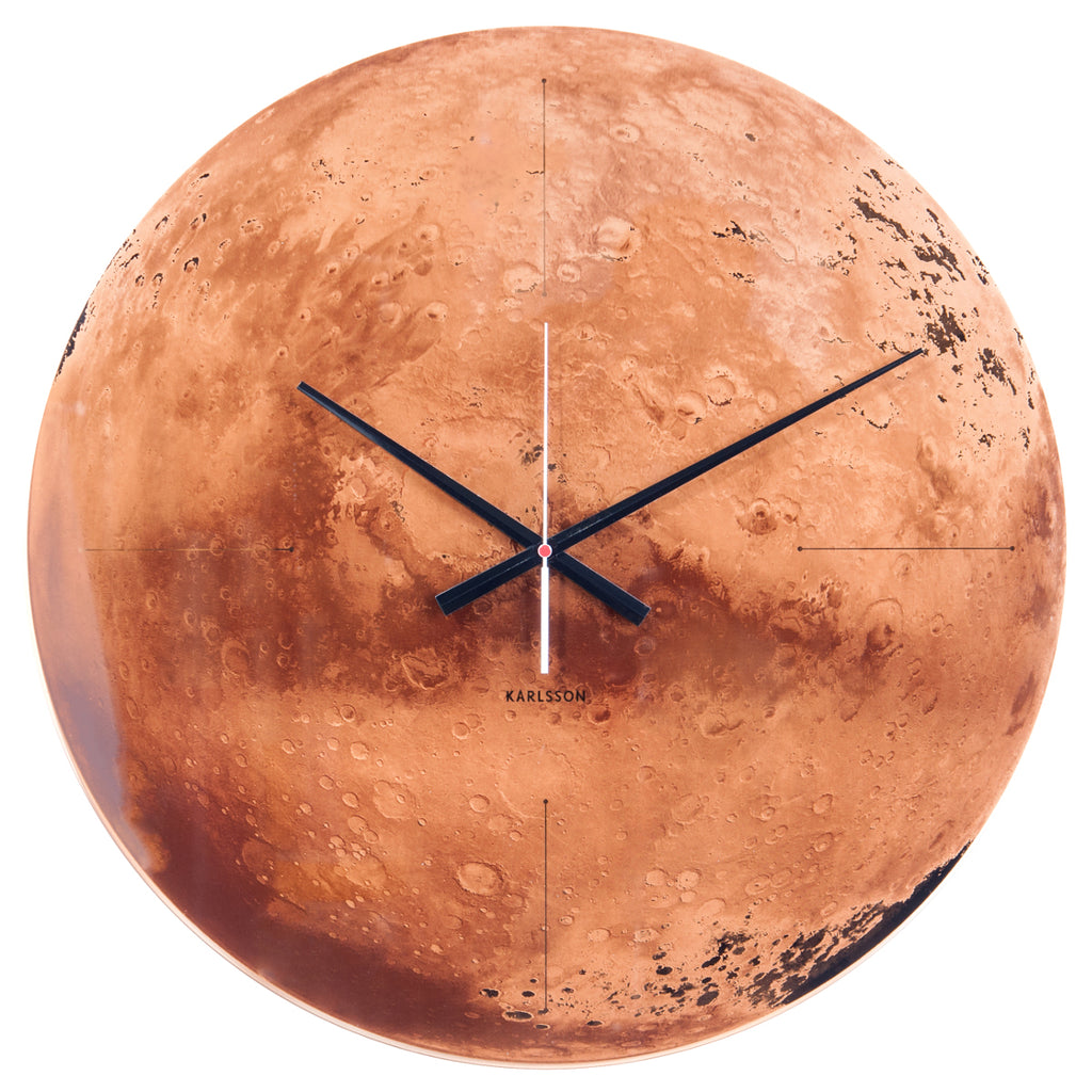 Karlsson Wall clock Mars