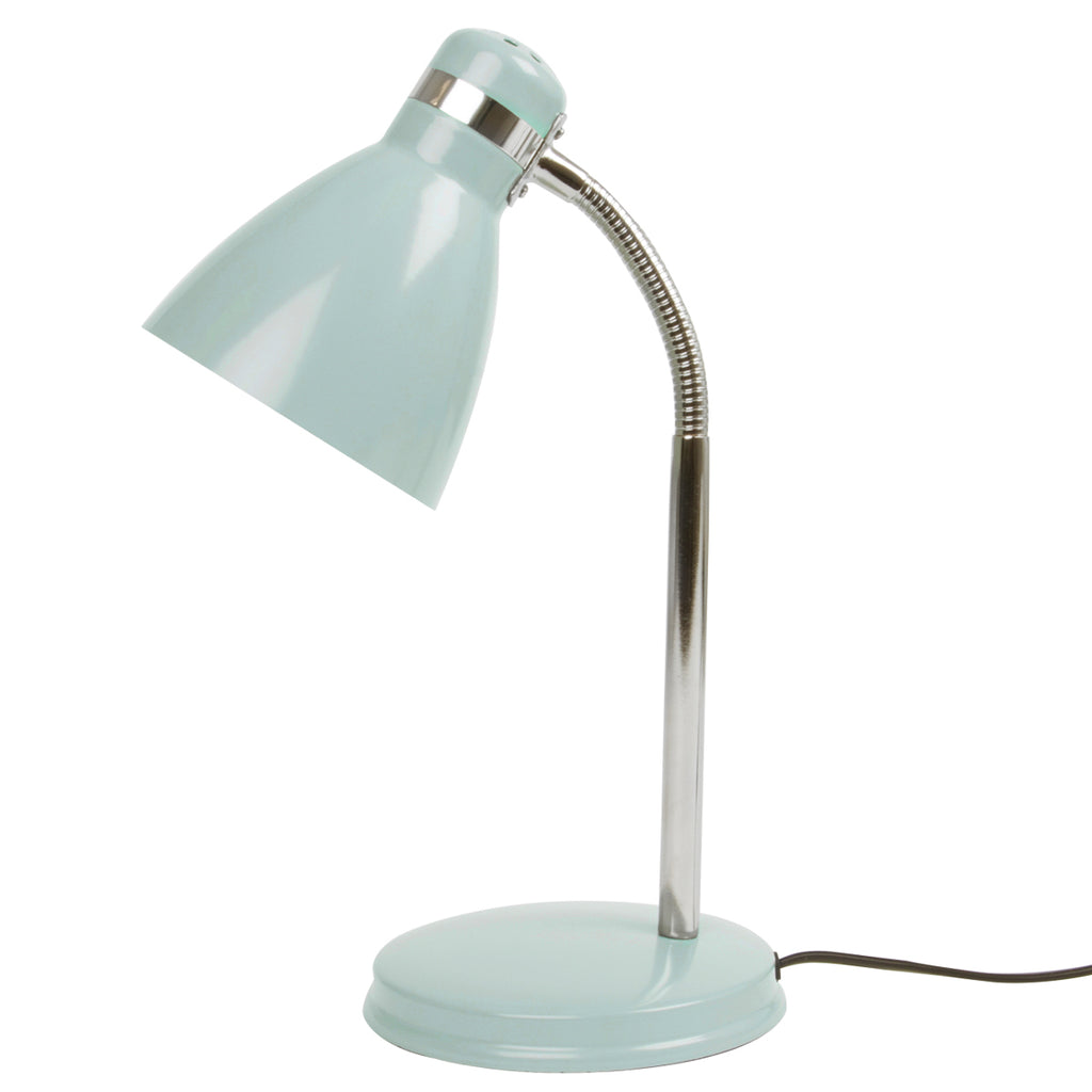 Table lamp Study metal misty grey