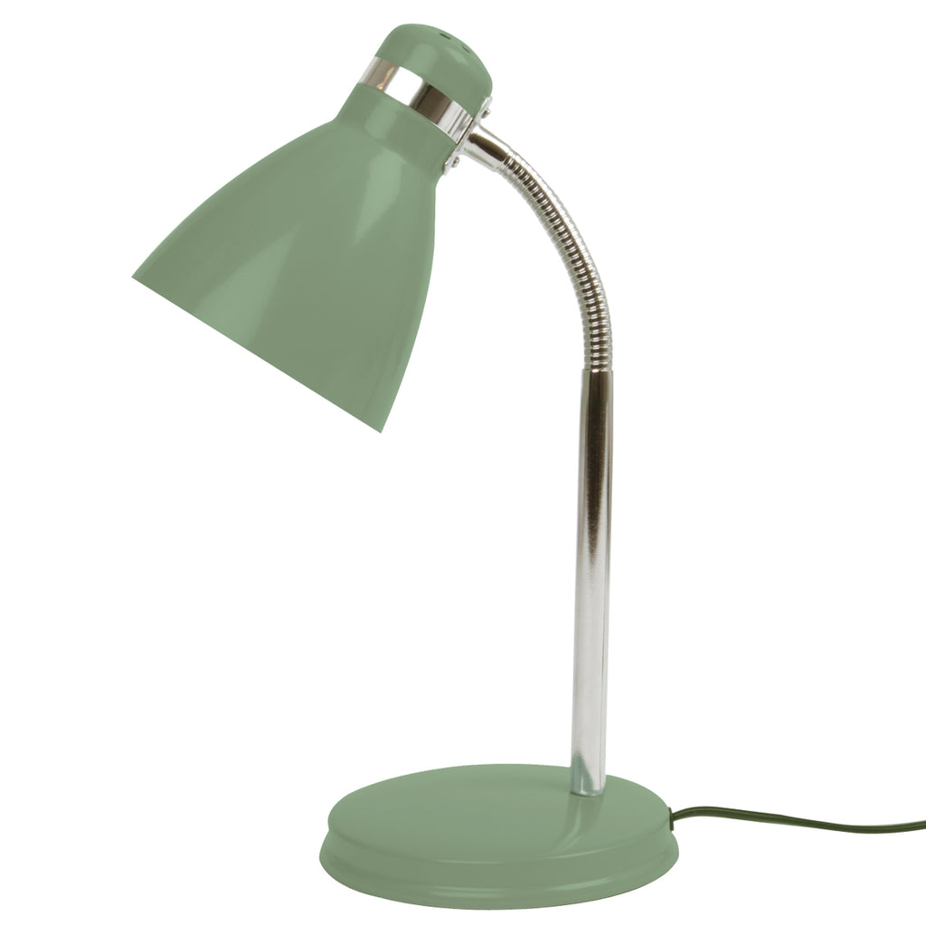 Table lamp Study metal jungle green
