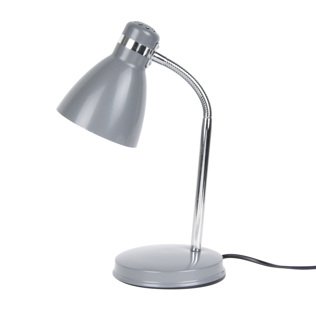 Table lamp Study metal dark grey