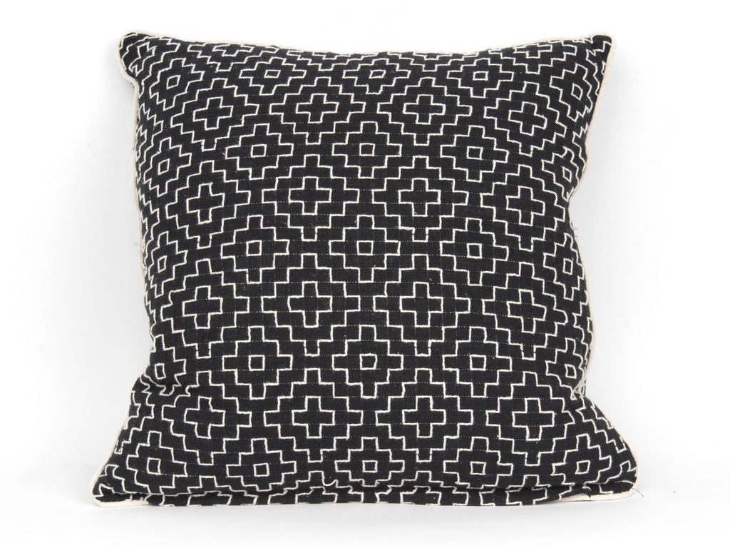 Cushion Comfy cotton black
