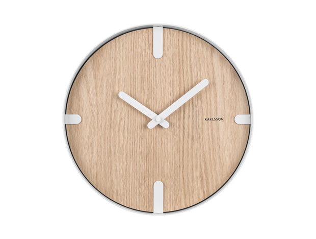 Wall Clock Dashed