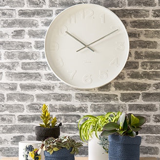 Karlsson Wall Clock Mr. White
