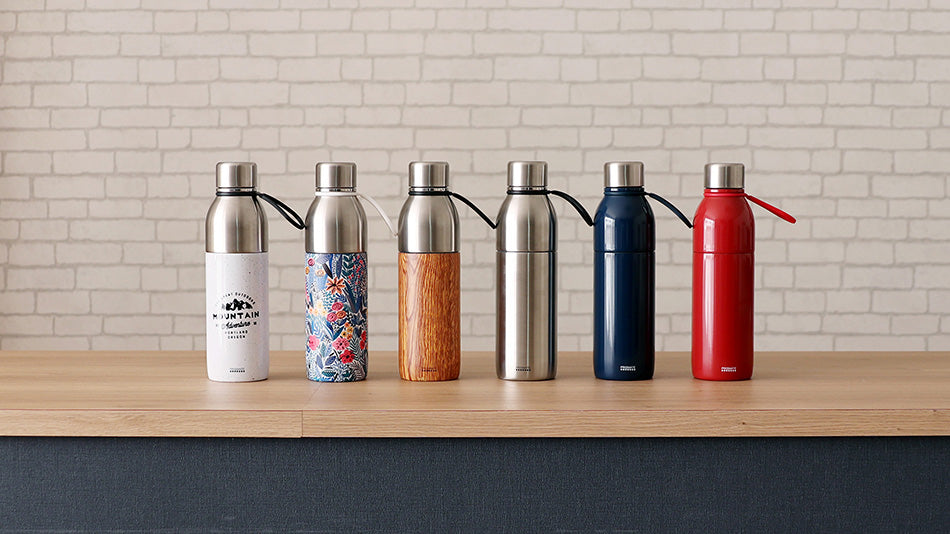 PRISMATE 2WAY Washable stainless bottle with tumbler cap PR-SK020