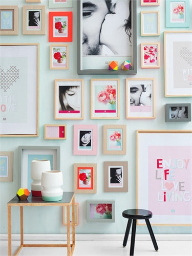 Photo frame Layered Pictures square shape alu