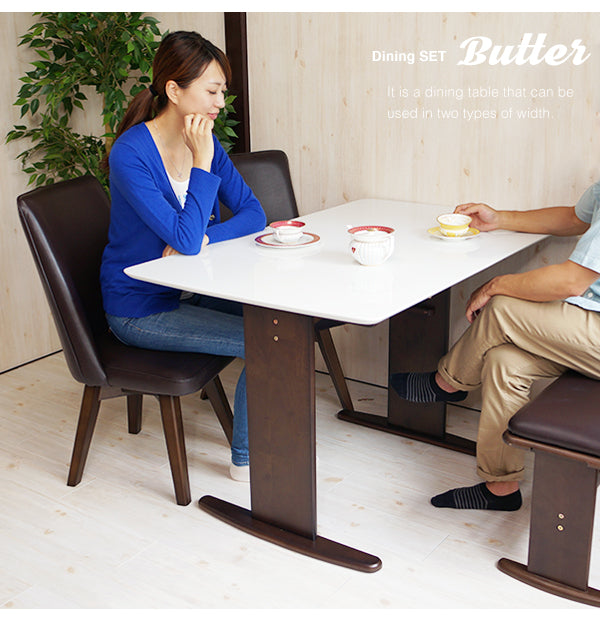 Marche Dining Table Butter II