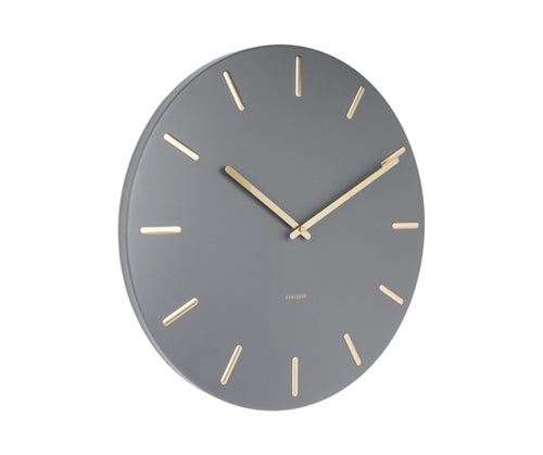 Karlsson Wall Clock Charm (Grey)