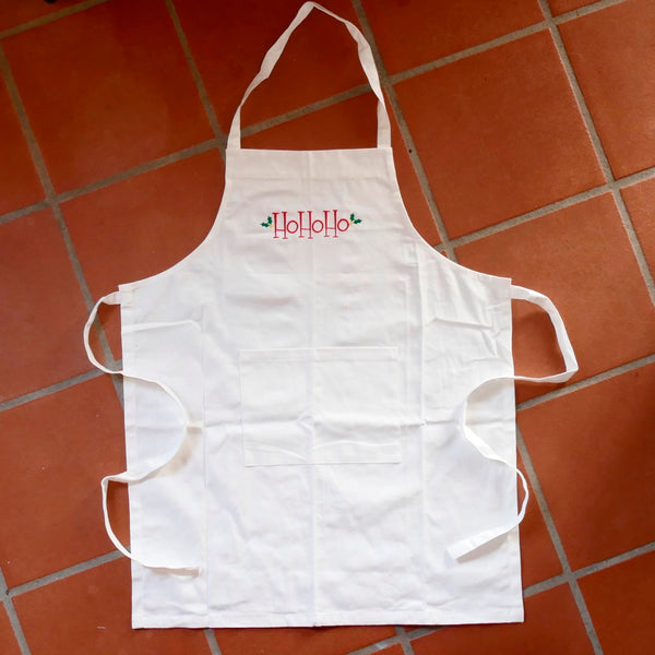 ....'Ho Ho Ho' Apron with pocket..'Ho Ho Ho' Tablier avec poche....