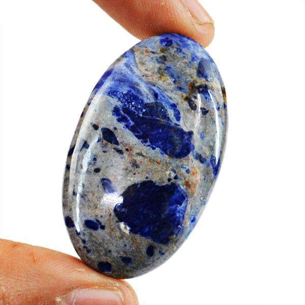 gemsmore:Amazing Blue Sodalite Untreated Loose Gemstone