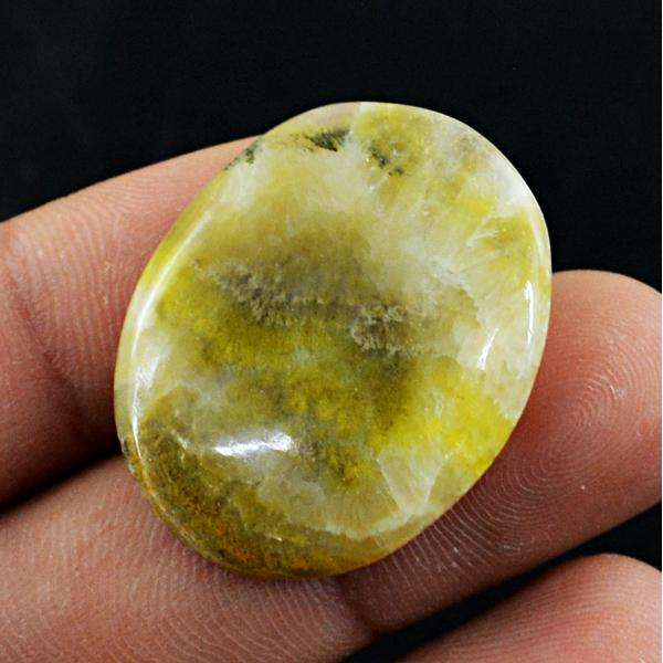 gemsmore:Amazing Genuine Bumble Bee Jasper Oval Shape Loose Gemstone