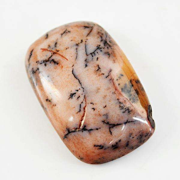 gemsmore:Amazing Genuine Dendrite Opal Untreated Loose Gemstone