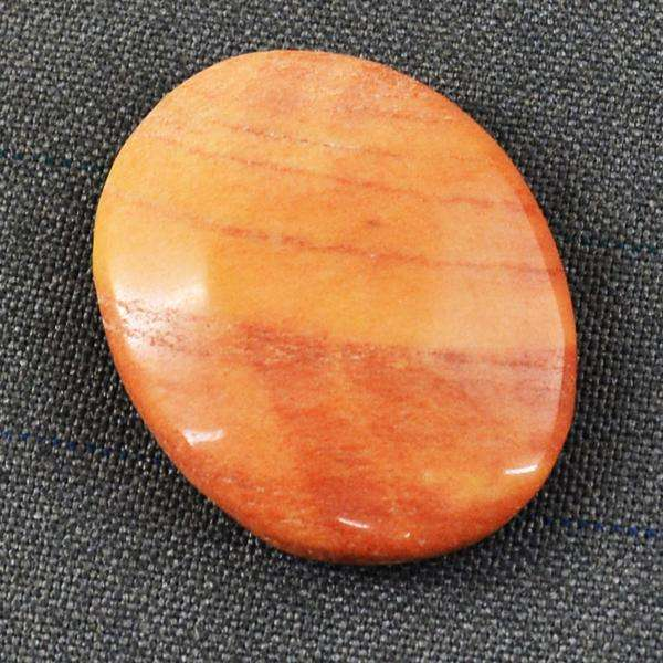 gemsmore:Amazing Genuine Oval Shape Dolomite Jasper Loose Gemstone