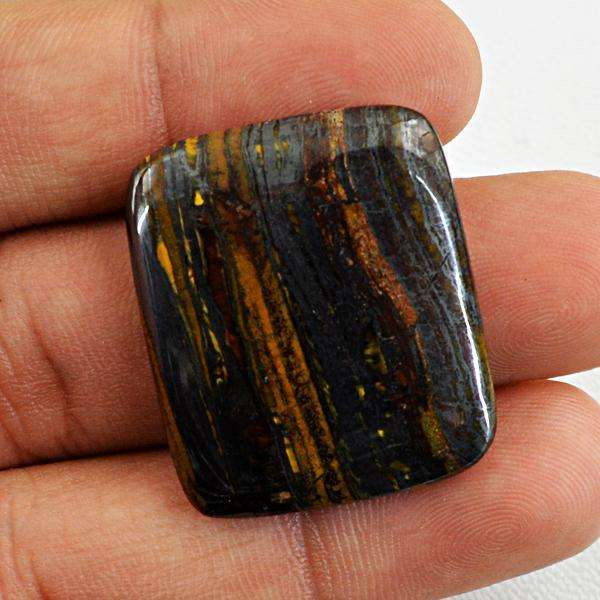 gemsmore:Amazing Iron Tiger Eye  Untreated Loose Gemstone