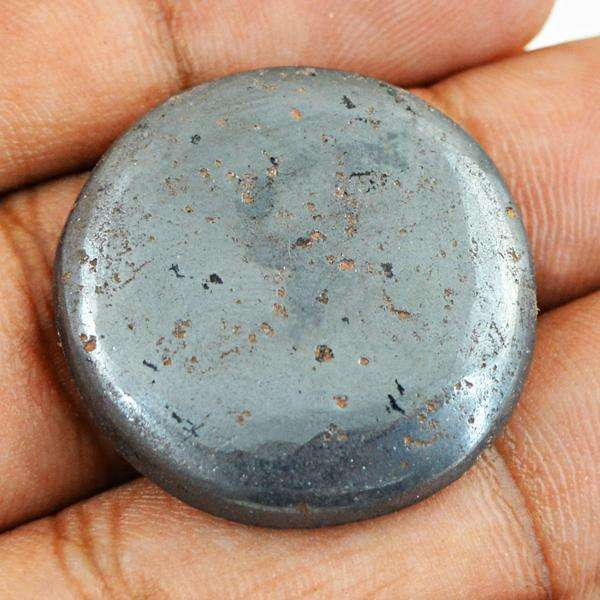 gemsmore:Amazing Natural Hematite Round Shape Untreated Loose Gemstone