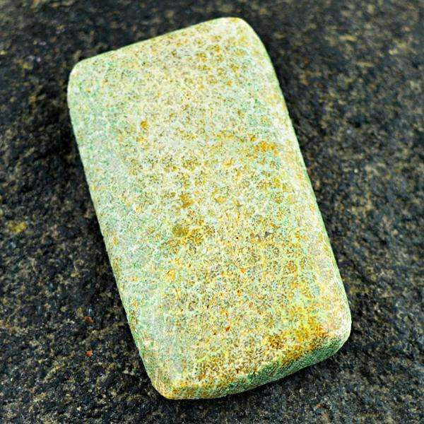 gemsmore:Amazing Rectangular Shape Coral Fossil Untreated Loose Gemstone
