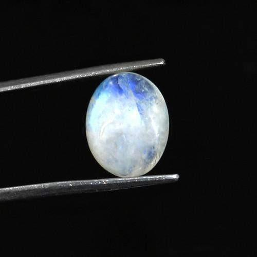 gemsmore:Daily Deal - Genuine Blue Color Change Moonstone Gemstone