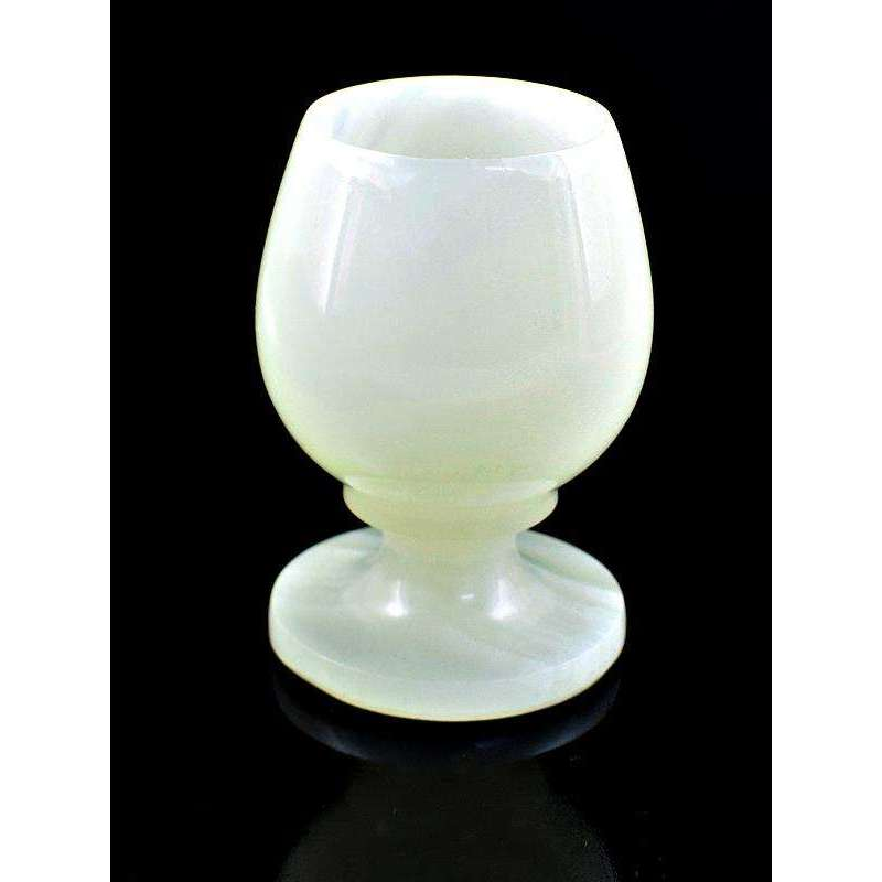 gemsmore:Exclusive Hand Carved Agate Wine Glass