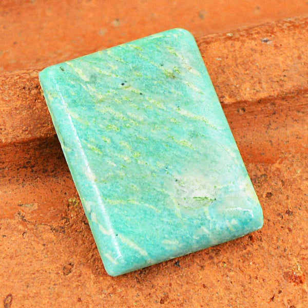 gemsmore:Amazing Amazonite  Untreated Loose Gemstone